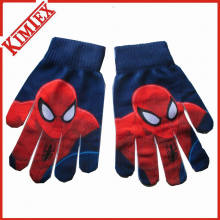 100% Acrylic Fancy Children Cartoon Glove