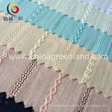 100%Cotton Jacquard Fabric for Shirt Garment Textile (GLLML081)