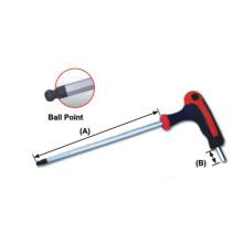 T-Handle Ball Point e chaves hexagonais