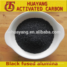 schwarzes geschmolzenes Aluminiumoxid / schwarzes Aluminiumoxidpulver / Korund für sandblsting-Scheuermittel