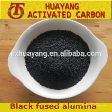 alumínio fundido preto / pó de óxido de alumínio preto / corindo para abrasivo abrasivo