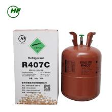 Venda quente marca HUAFU 99,9% de pureza r407c gás