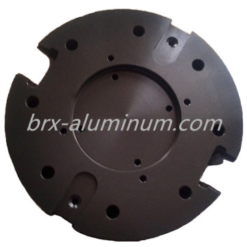 Hard Anodized Aluminum machine part