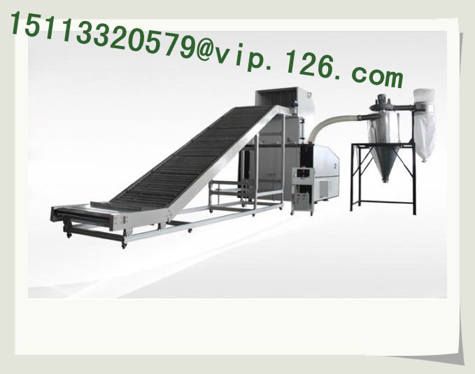 Large plastic recycling production line