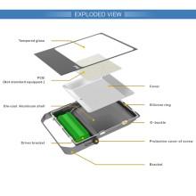 Proyector delgado 80W Dimmable Luz de inundación al aire libre del LED