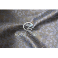 Polyeser Jacquard Twisted Chiffon Fashion Fabric for Women Dresses (ZCFA002)