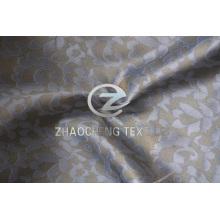 Polyeser Jacquard Twisted tecido de moda Chiffon para vestidos de mulheres (ZCFA002)