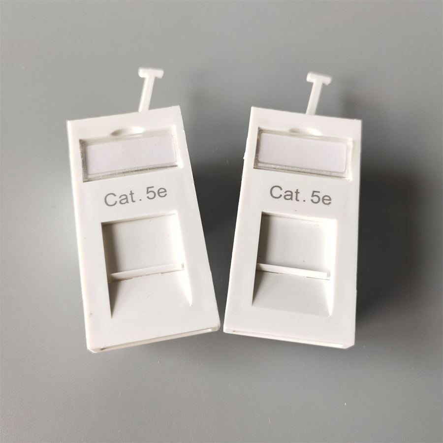 UK Type CAT5E wall face plate