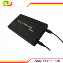 Custom Aluminum Hard disk drive Enclosure 3.5 USB2.0