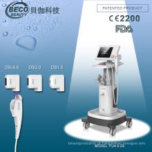 Máquina focalizada Hifu da beleza do ultra-som para os cuidados com a pele (FU4.5-2S)