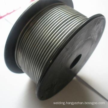 COPPER-ALUMINUM FLUX CORED BRAZING FILLER METAL WELDING WIRE