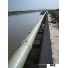 Tubo de arena compuesta para suministro de agua