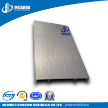 Durable Waterproof Aluminum Baseboard Metal Skirting Board for Decoration