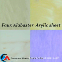 Acrylic Plastic Sheet Made with 100% PMMA Raw Material for Decoration Material