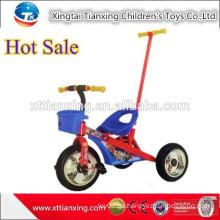 Hochwertiges Drei-Rad-Fahrrad-Spielzeug, Kind-Dreirad-Auto mit Push-Bar