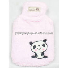Lovely warm winter water pot plush hot water bag
