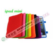 Colorful Fashion Mini Ipad Silicone Cases With Lego Blocks Design Diy Puzzle Factory