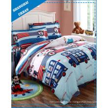 Kinder-Baumwollbettwäsche-Bettbezug (Set)