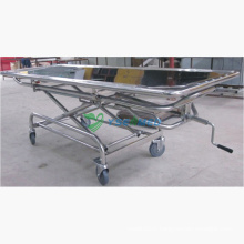 Medical Mortuary Room Luxury Lift Corpse Cart