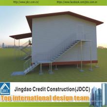 Econonical y estructura de acero de alta calidad aula