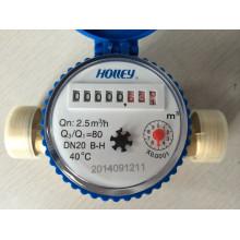 Medidor de água de jato único (certificado ISO4064)