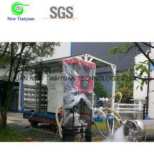 245L Capacité nominale LNG Cylindre de réservoir cryogénique pour bus de voitures