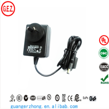SAA CCC ROHS UL AC DC power adapter 18w