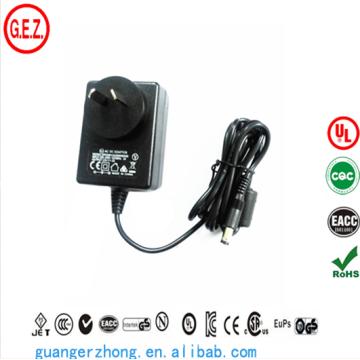 SAA CCC ROHS UL AC DC adaptateur d'alimentation 18w