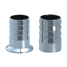 Polished Sanitary Stainless Steel Welded Hose Connector