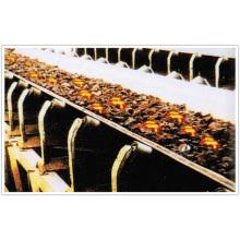 Banda transportadora de resistencia a la quema utilizada en la industria siderúrgica