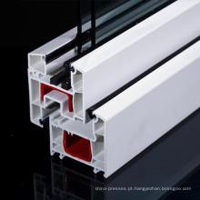Perfil de PVC série 60 mm para janelas uPVC