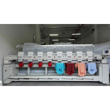 Multi Head 3D Embroidery Machine for Cap Embroidery Wy908c