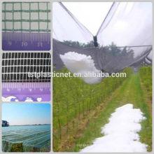 Landwirtschaftliches Antihagelnetz, Antihagelgewebe