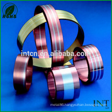copper clad silver nickel composite metal strip