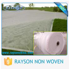 Tela UV não tecida do controle de ervas daninhas da proteção de Sun da largura extra de 3,2 ~ 45m