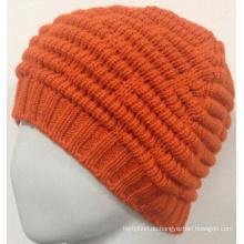 Girls Knit Beanie Cap Warm Beanie Hut Sie mögen (KB-080003)