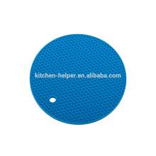 Qualitäts-Nahrungsmittelgrad-Material-hitzebeständiger runder Silikon-Topf-Halter