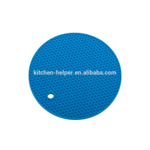High Quality Food Grade Material Heat Resistant Round Silicone Pot Holder
