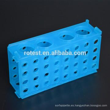 Racks de tubos de centrifugadora multiusos de 0,5 ml / 1,5 ml / 15 ml / 50 ml