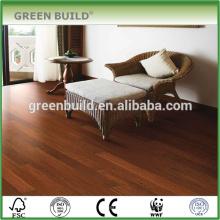 Plancher en bois stratifié lisse de classe supérieure de Jatoba d'intérieur