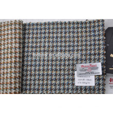 bespoke protected brand harris tweed fabric in houndstooth design
