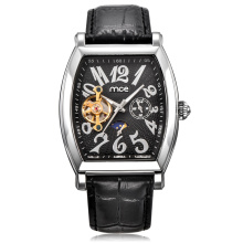 custom case face mechanical men watch