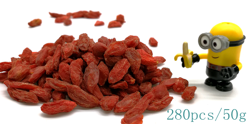 Dried Organic Goji Berry Fruta