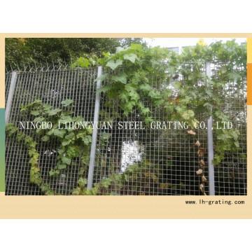 Оцинкованная стальная решетка забора с высоким качеством