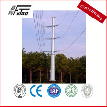OEM for Steel Electric Pole 11 Meters Electric Transmission Power Pole supply to Angola Factory