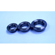 Angular contact ball bearing ring