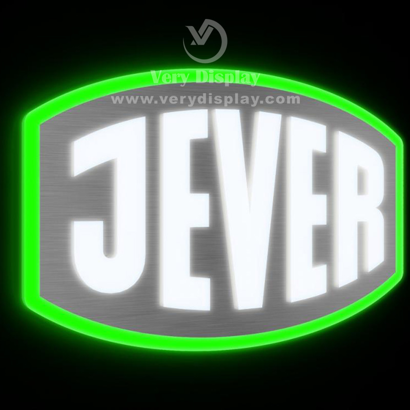 Jever Metal Logo Sign