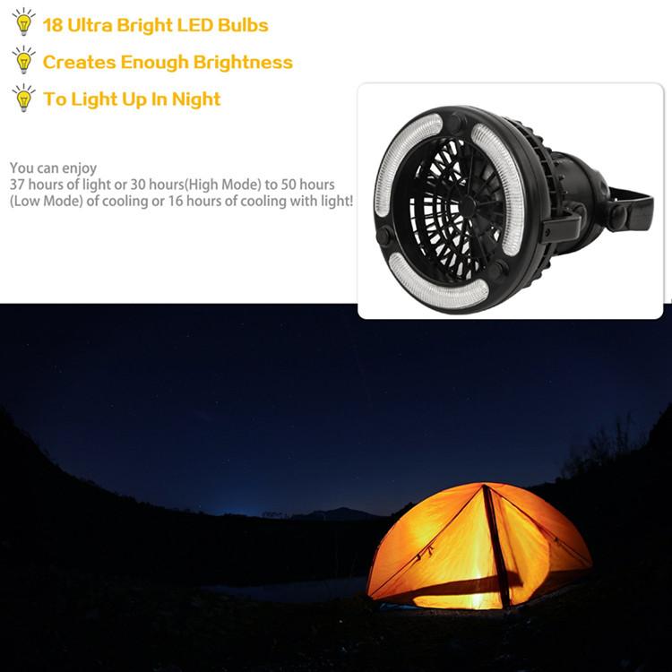Fan Camping Light