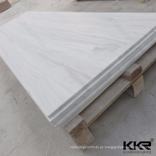 Pedra artificial 100% acrílico superfície sólida bloco de concreto decorativo