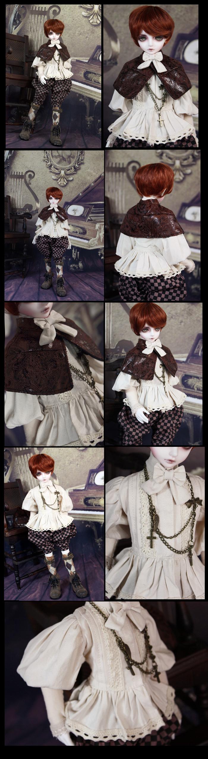 Bjd Clothes Black tea prince2